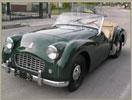 auto epoca verde